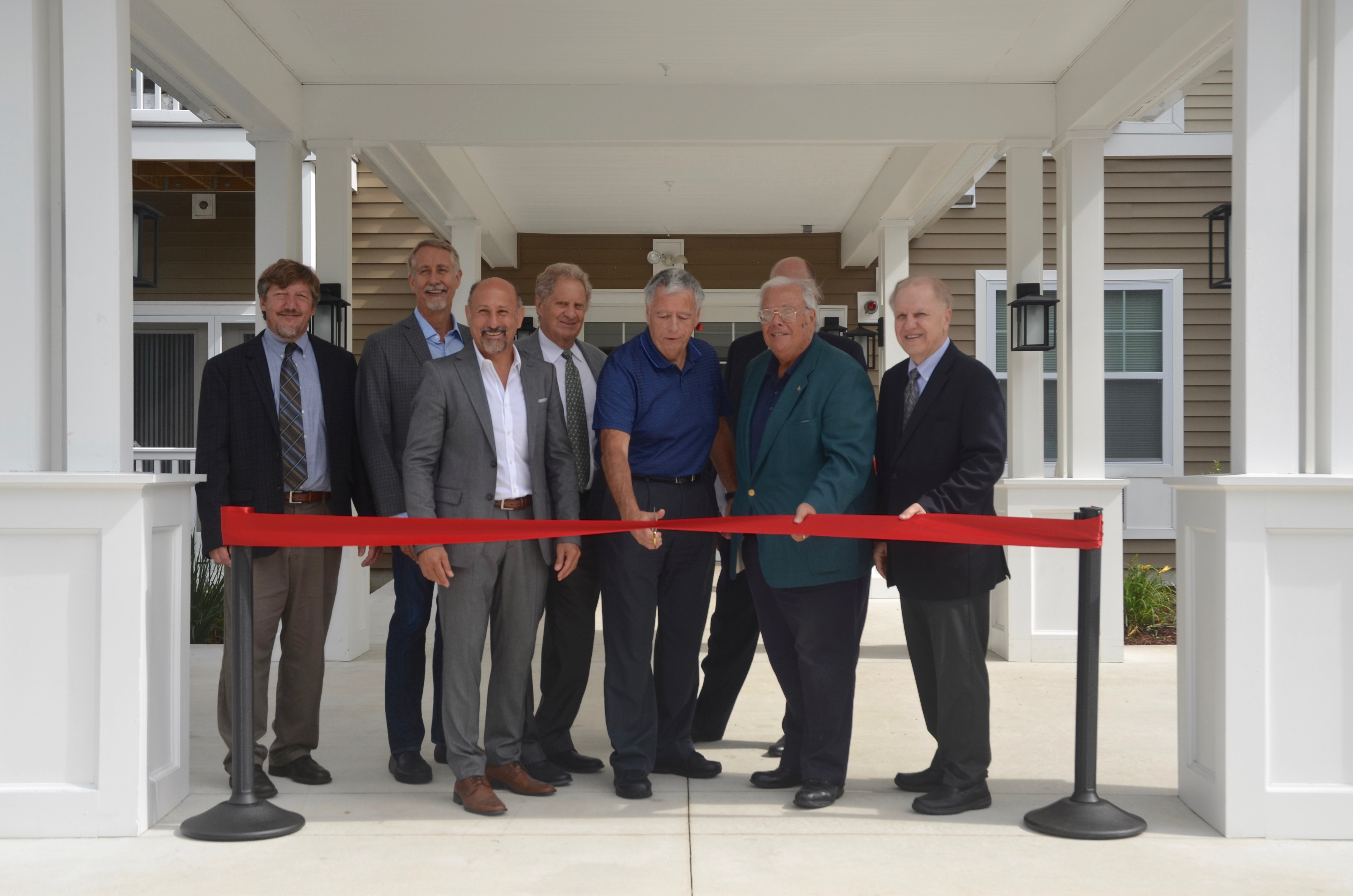 Ribbon Cutting at Tenney Place